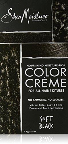 Shea Moisture Nourishing Hair Color Kit, Black