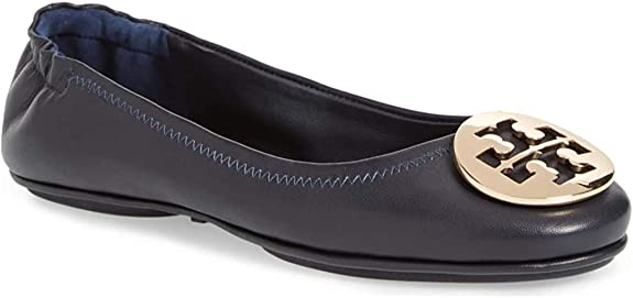 6. Tory Burch Minnie Travel Ballet Flat Shoes