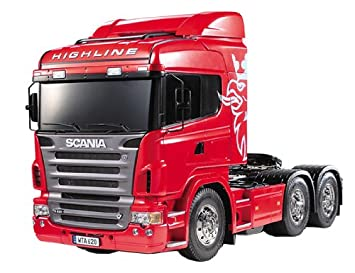 Tamiya 300056323 radio controlled Scania R620 Highline tractor truck model  kit - 3 axle - 1:14 scale