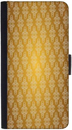 Snoogg Wallet Tasche Flip Case Sleeve Folio Book Cover mit Kreditkarte Slots, Cash Tasche, Ständer, Magnetverschluss, Schwarz für HTC One M9