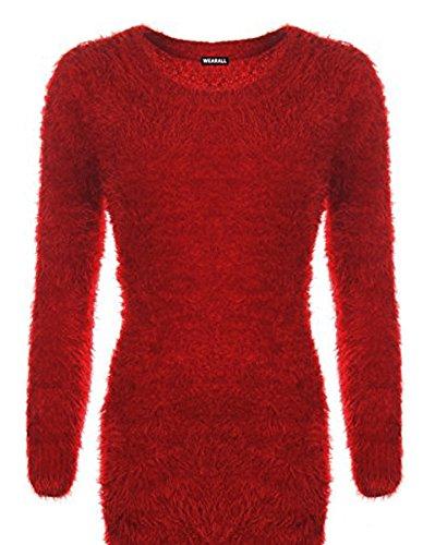 Taille Bordeaux SSoul Shirt Femme Unique Sweat wqSPx7av