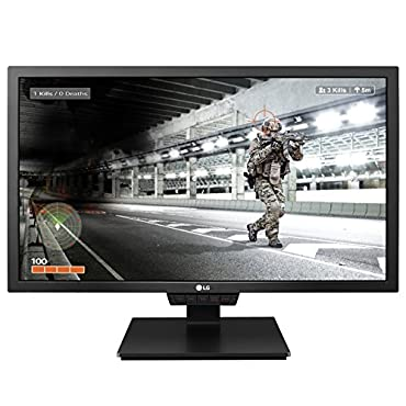 LG 24GM79G-B 24 Gaming Monitor with 144Hz Refresh Rate and 1ms Motion Blur Reduction (2017)