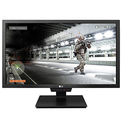 "LG 24GM79G-B 24"" Widescreen LED Gaming Monitor with 144Hz Re"
