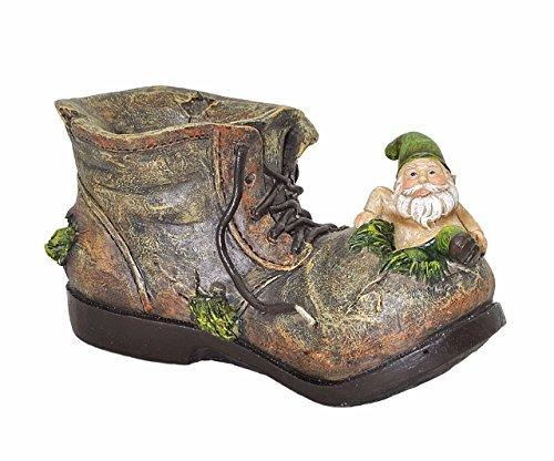 Gnome Planter (Gnome on Shoe Garden Planter)