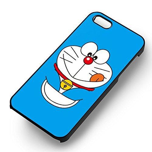 Doraemon Cute pour Coque Iphone 6 et Coque Iphone 6s Case (Noir Boîtier en plastique dur) V4J8MK