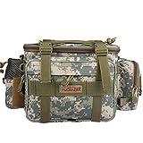 Goture Waterproof Outdoor Fanny Pack Portable Multi-function Canvas Carp Fishing Lure Storage Waist /Shoulder Bag
