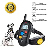 Dog Training Collar Shock Collar for Dogs with Rechargeable and Waterproof, Beep Vibration Shock 3 Modes Harmless Safe Dog Shock Collar with 1000 Foot Remote for Small Medium Large Dogs For Sale