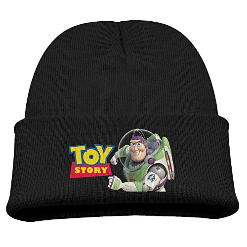 Zengbaba Toy Story Buzz Winter Knit Cap Beanie Cap For Kids Black