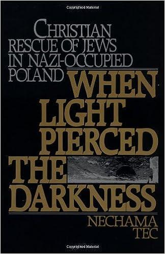 When light pierced the darkness christian rescue of jews in nazi when light pierced the darkness christian rescue of jews in nazi occupied poland fandeluxe Gallery