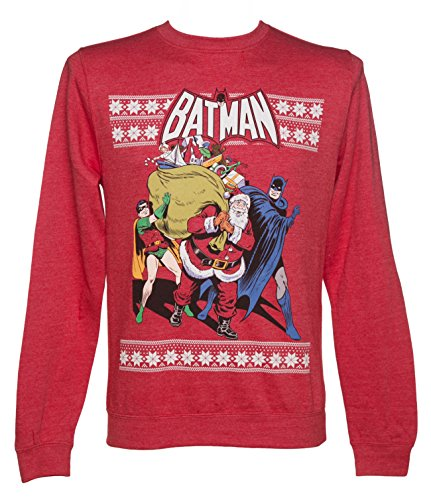 Batman And Robin Christmas Sweater
