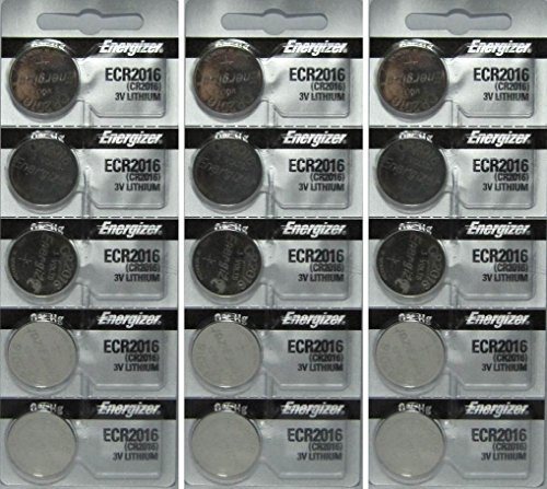 (15 Energizer CR2016 Lithium Batteries)