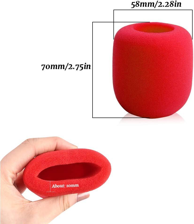 Dylan-EU Lot de 10 coques de micro color/ées r/éutilisables pour pare-brise