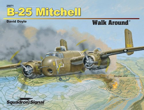 Squadron Signal Publications B-25 Mitchell Walk Around Book
