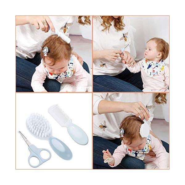 Lictin Set per la Cura del Bambino - Beauty BabyCare - Forbicine per Unghie e Capelli,Spazzolini da denti,Tagliaunghie… 4