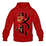Men's Kyrie Irving Logo Poster Hoodie Red