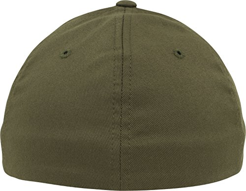 Flexfit Wooly Combed Caps buck