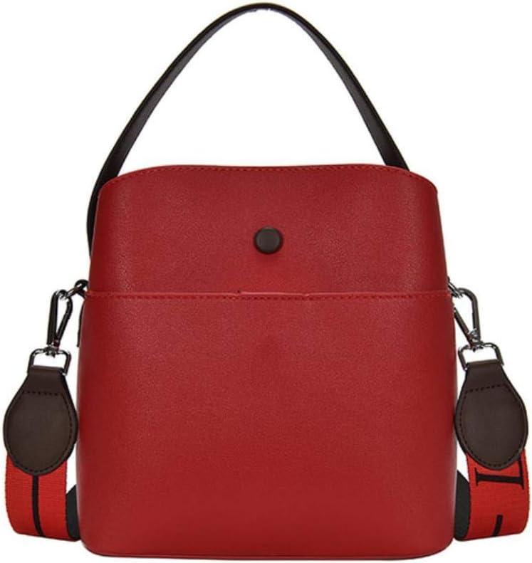 AQW - Bolso al hombro para mujer rojo Rojo Verde