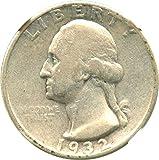 1932 D Washington Quarters (1932-98) Quarter VG-8 NGC