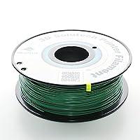 3D Solutech Real Green 1.75mm 3D Printer PLA Filament 2.2 LBS (1.0KG) - 100% USA by 3D Solutech
