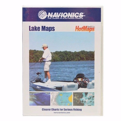 Navionics HotMaps Platinum - Chart 1 - WA, OR, ID, MT, WY, ND, SD, NE, IA - SD Card