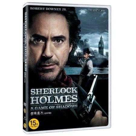 SHERLOCK HOLMES : A GAME OF SHADOWS (Korea Edition) (Region code : 3)