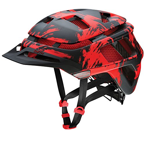 Smith Optics Forefront Adult MTB Cycling Helmet - Matte Fire Insomniac/Large