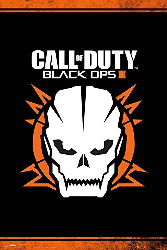 Call Of Duty Black Ops 3 Skull Poster Gloss Laminated - 91.5