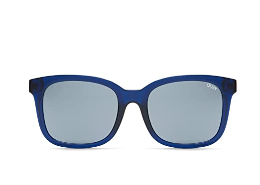 6cb7f2b724ec5 Amazon.com  Quay Australia Kingsley Sunglasses (NVY MIR)  Clothing