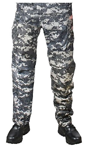 Melonie clothing Military BDU Pants Digital Camouflage Cargo Army Fatigue Camo Trousers Bottoms