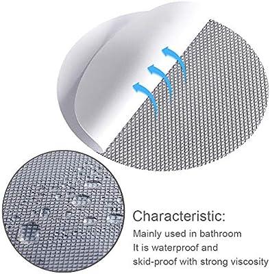 RSVAIMU - Pegatinas Adhesivas para mampara de Ducha (10,16 x 10,16 cm, Antideslizantes y Antideslizantes): Amazon.es: Hogar