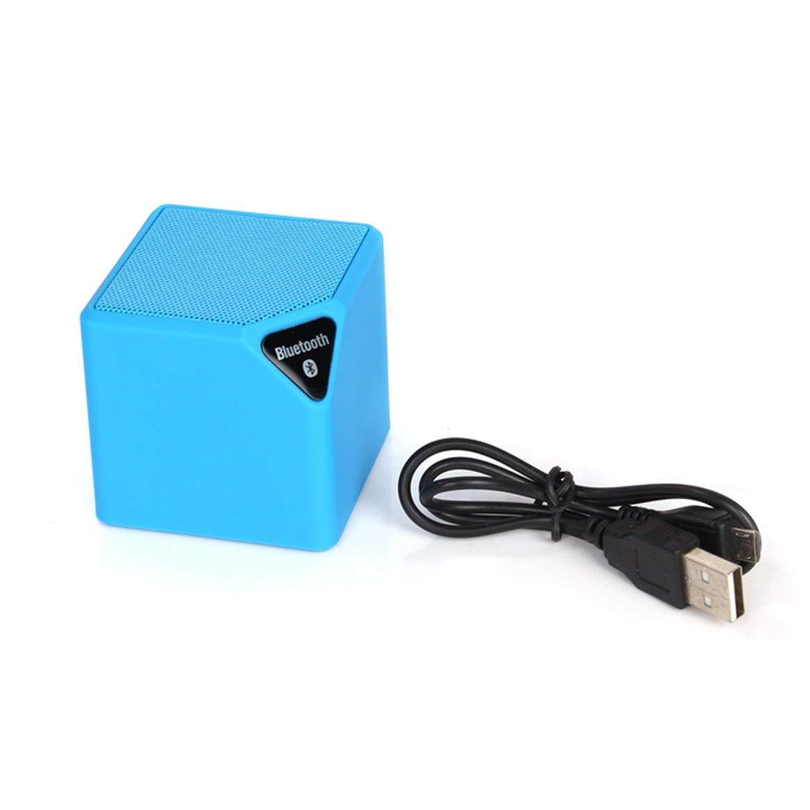 Mini Portatile Magic Cube Wireless Bluetooth Speaker Music Player FM Trasmettitore con Supporto per la Luce del LED TF Ingresso AUX Delicacydex