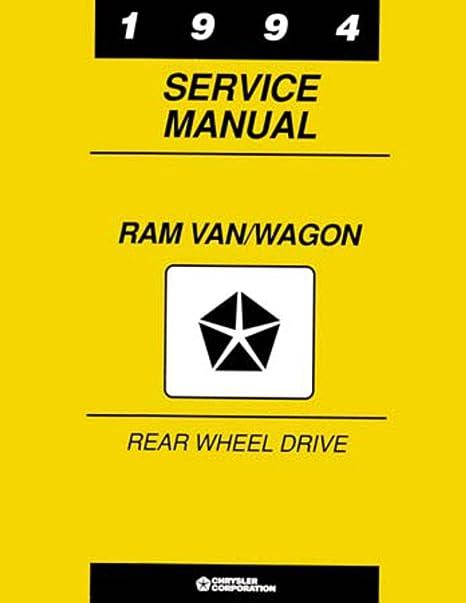Amazon.com: bishko automotive literature 1994 Dodge Ram Van ... on dodge ram 3500 wiring diagram, dodge w150 wiring diagram, dodge d100 wiring diagram, dodge d150 wiring diagram,