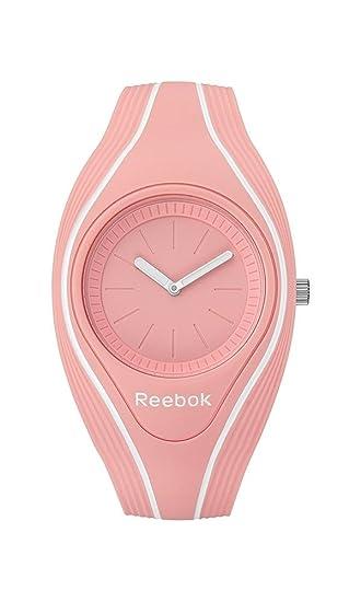 Reebok Reloj Analógico para Mujer de Cuarzo con Correa en Silicona RF-RSE-L2
