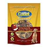 chicken apple dog treats - Cadet Chicken & Apple Dog Treat Wraps, 14 oz.