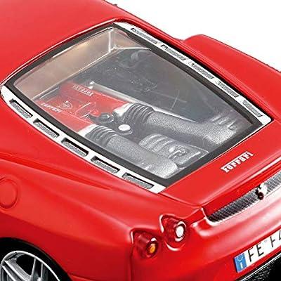 modello di auto 1:24//Maisto FERRARI f430 ROSSO-KIT-