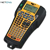 Rhino 6000 Professional Labeling Tool and Free 6 Feet Netcna HDMI Cable - By NETCNA
