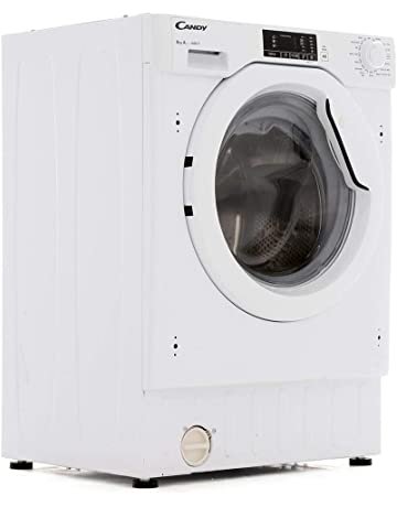 Candy CBWM816D-80 8kg 1600rpm Spin Integrated Washing Machine - White [Energy Class A+]