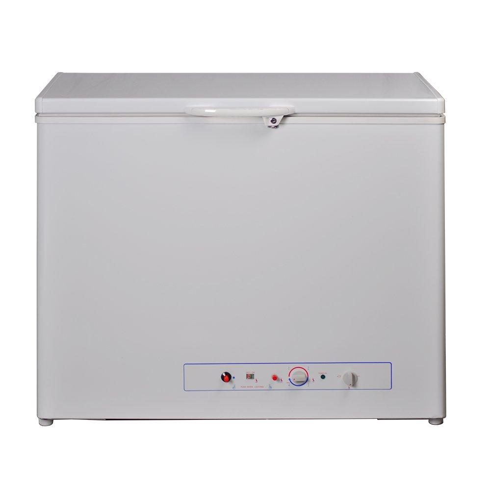 Smad Compact Single Door Chest Freezer AC/LPG 2 Way, 5.7 cu.ft., White