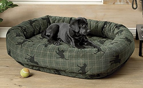 Orvis Wraparound Dog Bed Cover/Small, Lab Plaid, Small