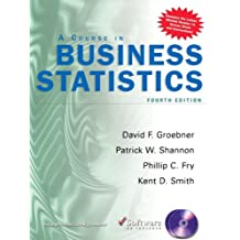 Amazon david f groebner books a course in business statistics business statistics fandeluxe Image collections
