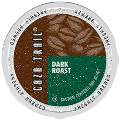Caza Trail Single Serve Coffee for Keurig,Dark Roast , 72 Count: Amazon.com: Grocery & Gourmet Food