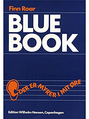 Finn Roar: Blue Book - Sheet Music: Amazon co uk: Musical Instruments