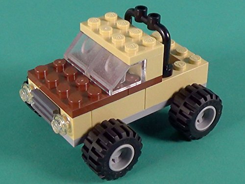 Jam Crusher - Monster Truck Building Instructions with LEGO Classic 10697