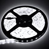 Biltek LK-SC-72 White On/Off Switch Control Kit (6' Feet Cool 114 LEDs Light Smd3528 110V Plug)