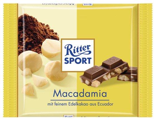 Ritter Sport Bio Macadamia, 13er Pack (13 x 65 g Packung) - Bio