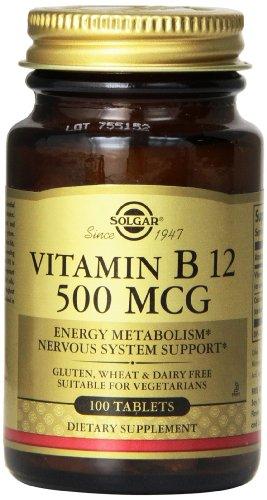 Solgar Vitamin B12 Tablets Count product image