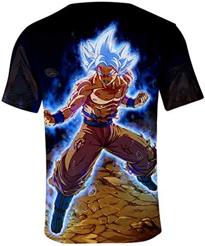 Ball T Cosplay Saiyan Goku Incisione 00828 Super Uomo Wu 3d shirt Maglietta Stampato Flychen Di Disegni Dragon wIBq5zRg