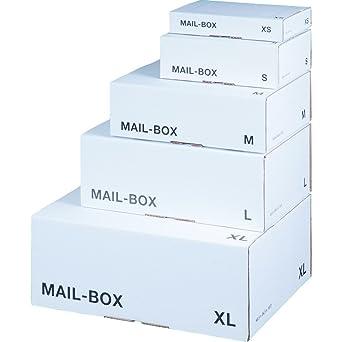 Cartón de más barato Box Caja de cartón para envío de correo electrónico, XS,