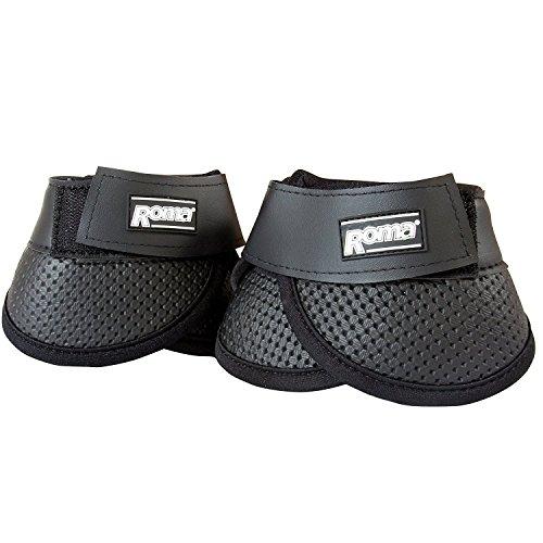 (Roma Scallop Bell Boot - BLACK\FULL)