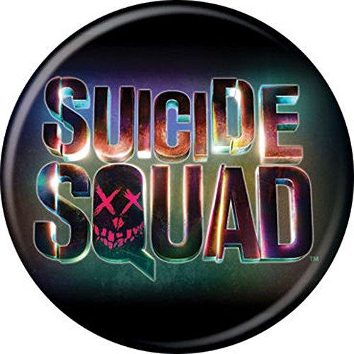 (Suicide Squad - Rainbow Logo - Pinback Button 1.25